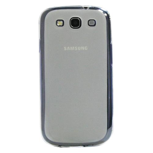 Exian Samsung Galaxy S3 Silicone Case Frosted Transparent Clear