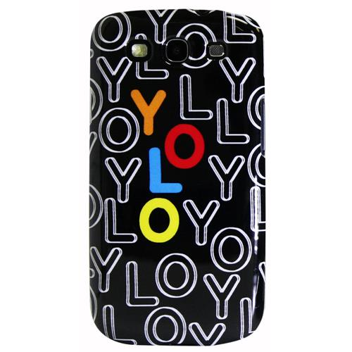 Exian Samsung Galaxy S3 Hard Plastic Case Exian Design YOLO