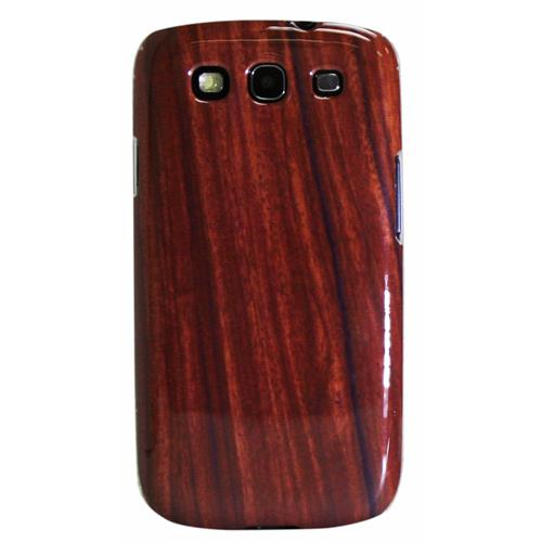 Exian Samsung Galaxy S3 TPU Case Exian Design Wood Pattern Brown