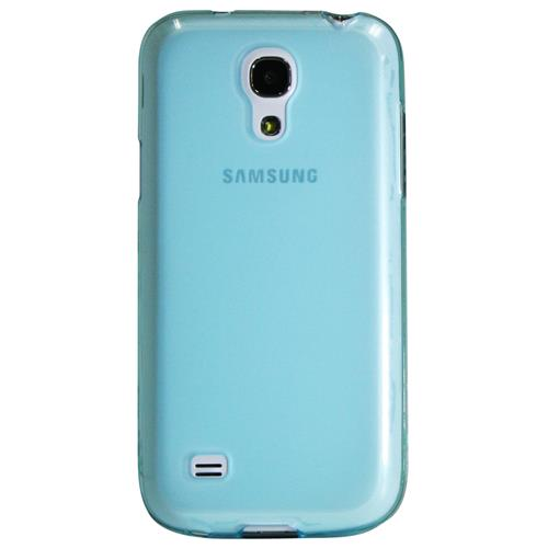 Exian Fitted Soft Shell Case for Samsung Galaxy S4 Mini - Blue