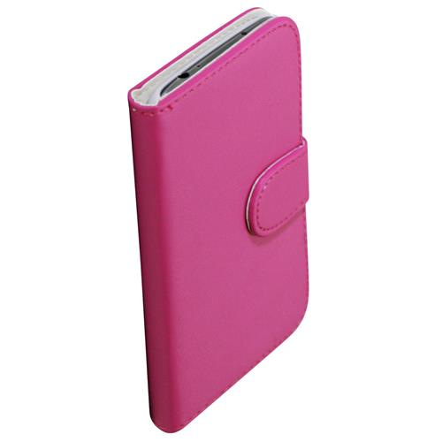Exian Fitted Soft Shell Case for Samsung Galaxy S4 - Pink