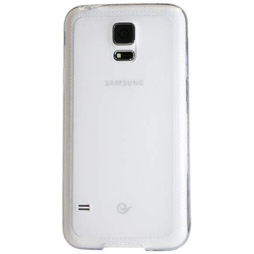Exian Fitted Soft Shell Case for Samsung Galaxy S5 - Clear