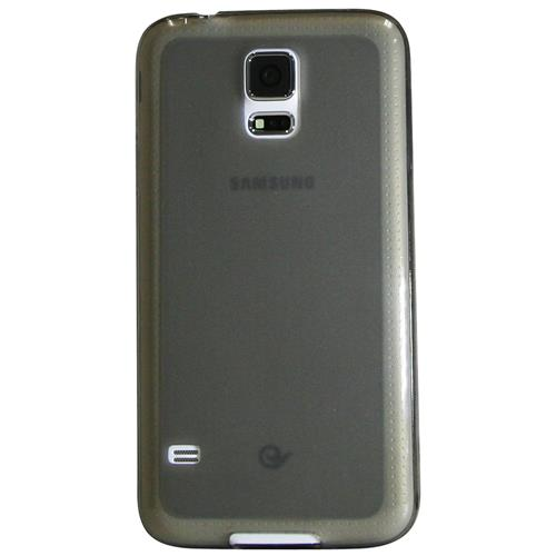 Exian Samsung Galaxy S5 TPU Case Frosted Transparent Grey