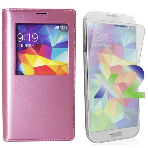 best service a2ece fcc4f Exian Fitted Soft Shell Case for Samsung Galaxy S5 - Hot Pink