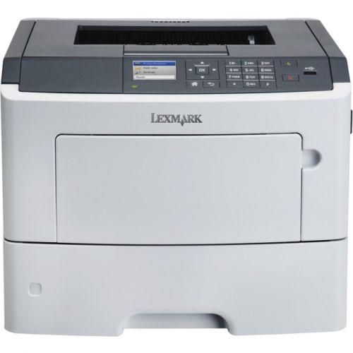 Lexmark MS617dn Laser Printer - Monochrome - 1200 x 1200 dpi Print - Plain Paper Print - Desktop