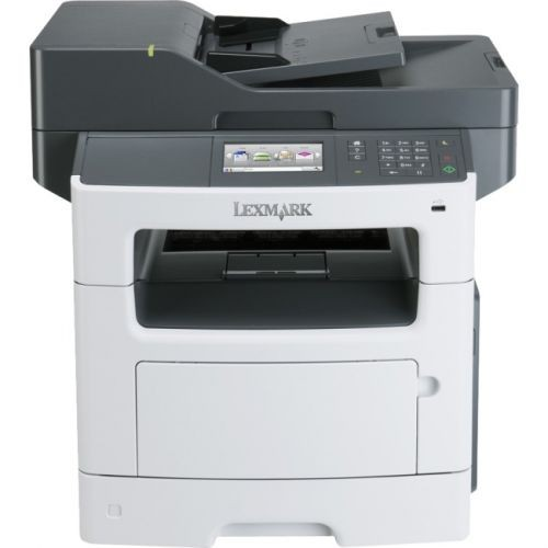 Lexmark MX517de Laser Multifunction Printer - Monochrome - Plain Paper Print - Desktop