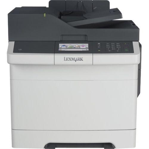 Lexmark CX417de Laser Multifunction Printer - Color - Plain Paper Print - Desktop