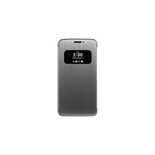 LG G5 OEM Silver Folio Quick Cover case