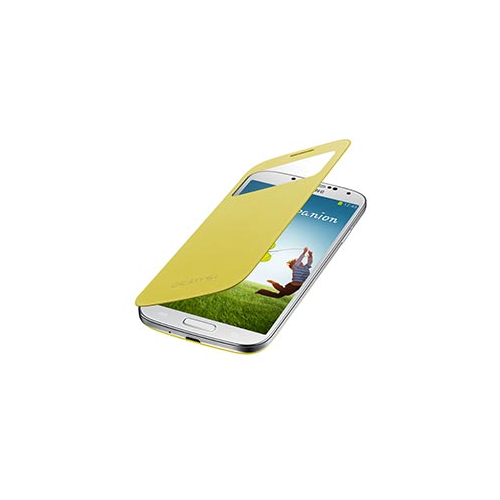 Samsung Flip Cover Case for Samsung Galaxy S4 - Yellow