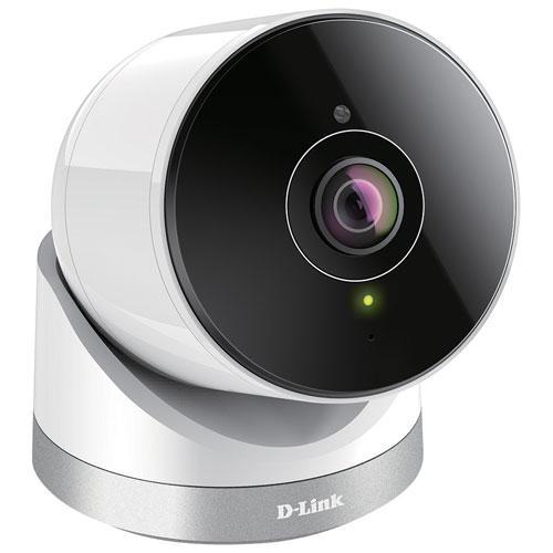 Caméra IP 1080p Wi-Fi d'extérieur 180 degrés de D-Link - Blanc