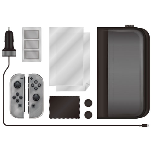Surge Starter Kit for Switch - Black/Clear
