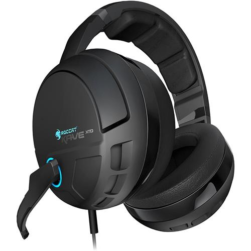 ROCCAT Kave 5.1 Digital Premium 5.1 Surround Sound Gaming Headset with USB Remote and Sound Card