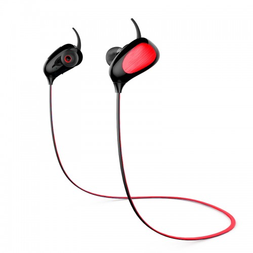 shinco ty126 wireless bluetooth headset music sports stereo earphone headphone red earbuds. Black Bedroom Furniture Sets. Home Design Ideas