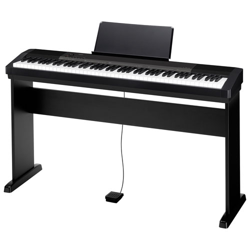 piano num rique 88 touches de casio 135cs noir. Black Bedroom Furniture Sets. Home Design Ideas