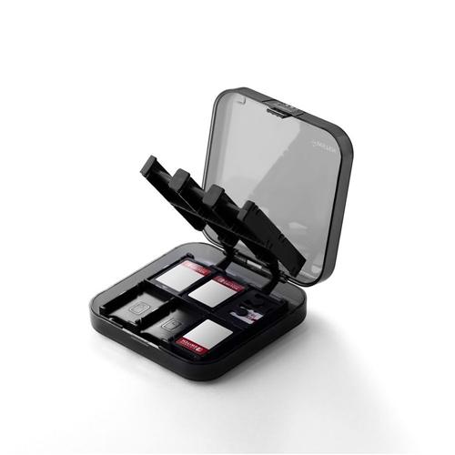 Insten Nintendo Switch 24-in-1 Game Card Storage Case, Black