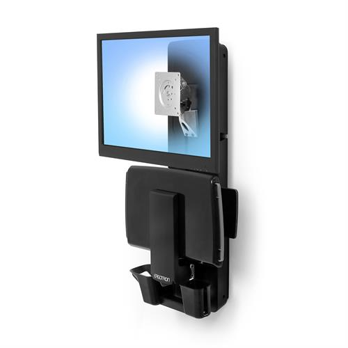 Ergotron StyleView Sit-Stand Vertical Lift, Patient Room (61-080-085)