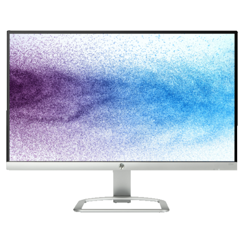 """HP 21.5"""" FHD 60 Hz 7 ms GTG LED Monitor - Silver, White - (T3M72AA#ABA)"""