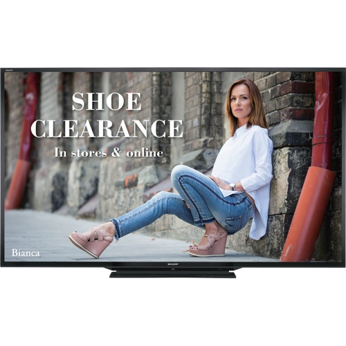 "Sharp 90"" LED Commercial Display(PNLE901)"