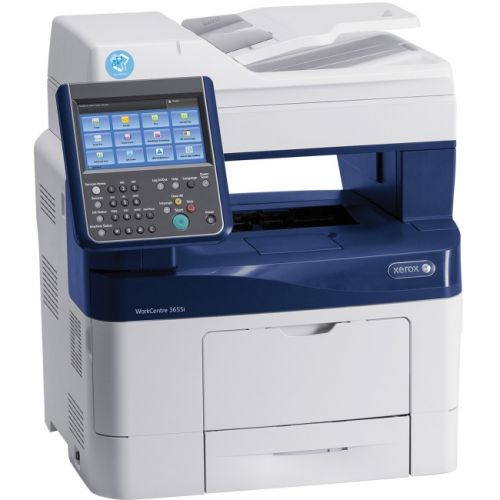Xerox WorkCentre 3655I/S Laser Multifunction Printer - Monochrome - Plain Paper Print - Desktop
