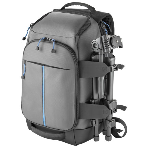 Insignia DSLR Camera Backpack - Grey : DSLR Cases & Bags - Best ...