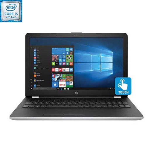 Portable tactile 15,6 po de HP-Argenté (Core i5-7200U Intel/DD 1 To/RAM 8 Go/Win 10)