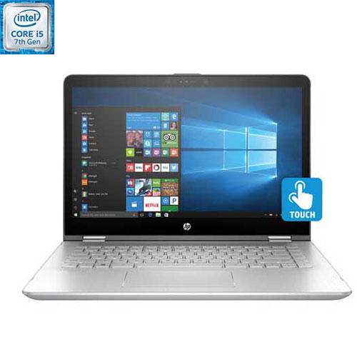 "HP Pavilion x360 14"" Touchscreen Convertible Laptop - Silver (Intel Core i5-7200U/256GB SSD/8GB RAM)"