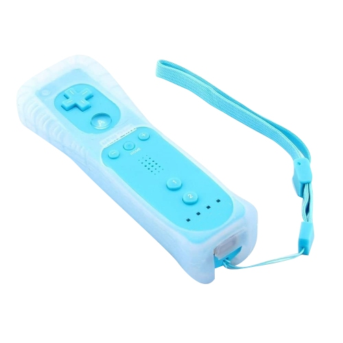 Generic Wii Remote Controller With Builtin Motion Plus - Blue