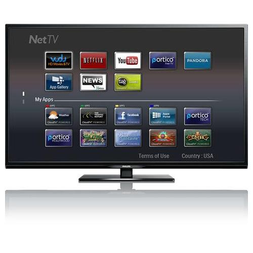 PHILIPS 58PFL4609/F7 58 INCH 1080P 120 HZ LED SMART TV - REFURBISHED