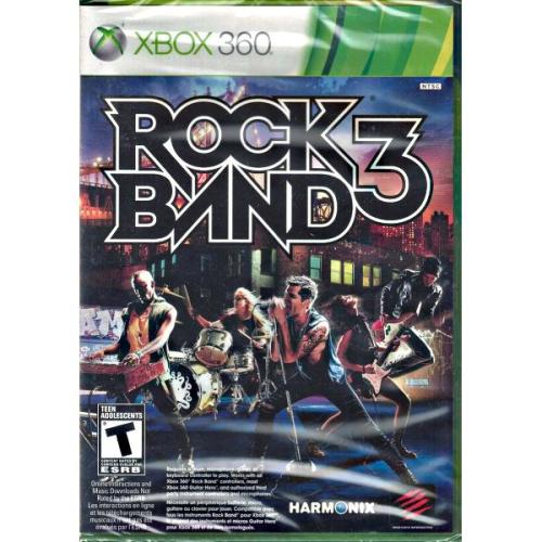 Rock Band 3 (Xbox 360)