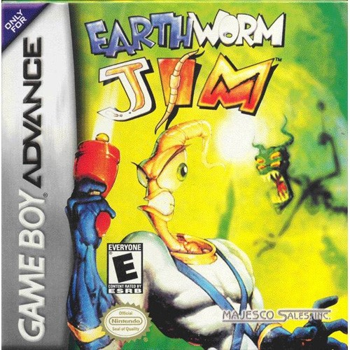 Earthworm Jim (Gameboy Advance)