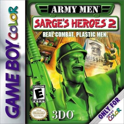 Army Men Sarge's Heroes 2 (Gameboy Color)