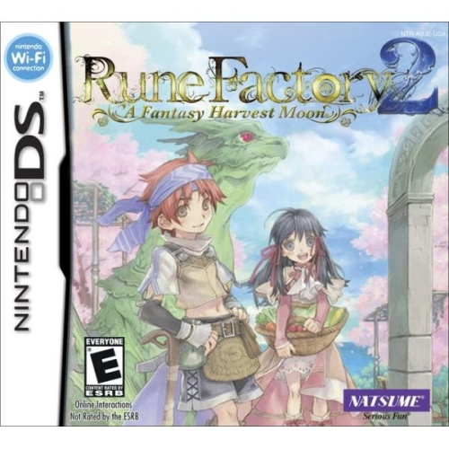 Rune Factory 2 A Fantasy Harvest Moon