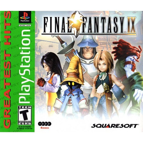 Final Fantasy IX 9 *Greatest Hits* (PS1)