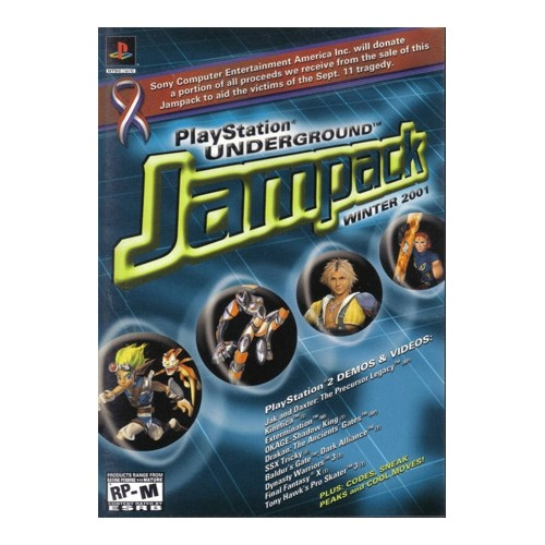 Jampack Winter 2001 (PS2)