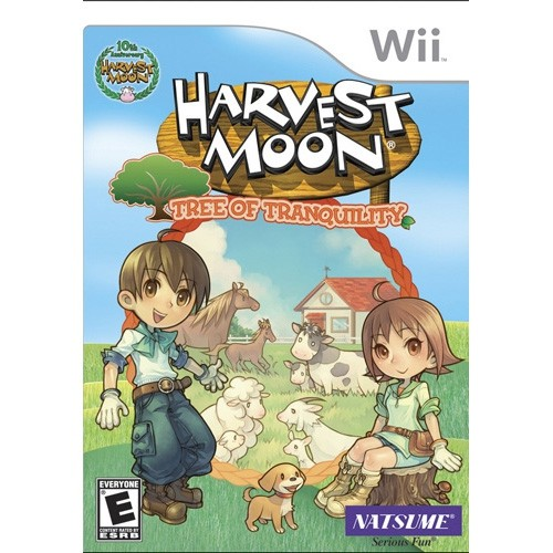 Harvest Moon Tree Of Tranquility (Wii)