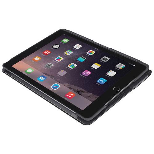 Étui-clavier mince folio de Logitech pour iPad 2017/2018 - Noir - Anglais