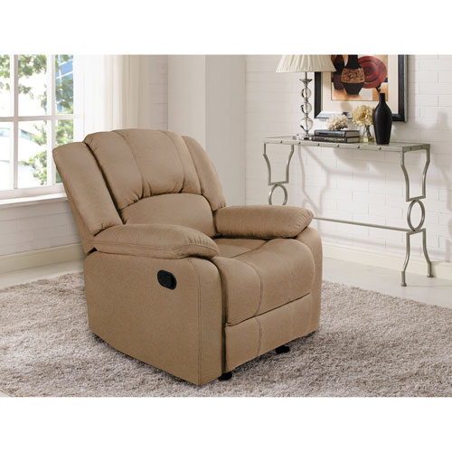 Victoria Transitional Micro Suede Recliner Chair - Dove  sc 1 st  Best Buy Canada & Victoria Transitional Micro Suede Recliner Chair - Dove ... islam-shia.org