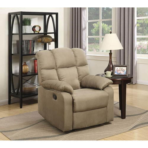 Fleming Traditional Micro Suede Recliner Chair - Taupe & Fleming Traditional Micro Suede Recliner Chair - Taupe : Recliners ... islam-shia.org