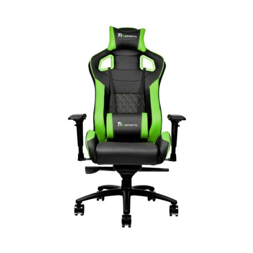 Tt eSPORTS GT Fit Professional Gaming Chair (Black & Green)