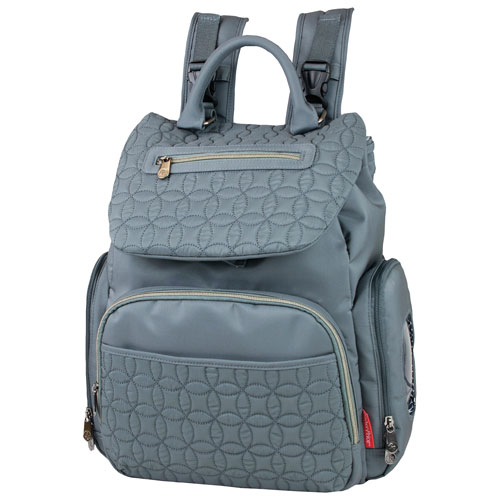 ecbbee810582 Fisher-Price Backpack Diaper Bag - Grey   Diaper Bags - Best Buy Canada