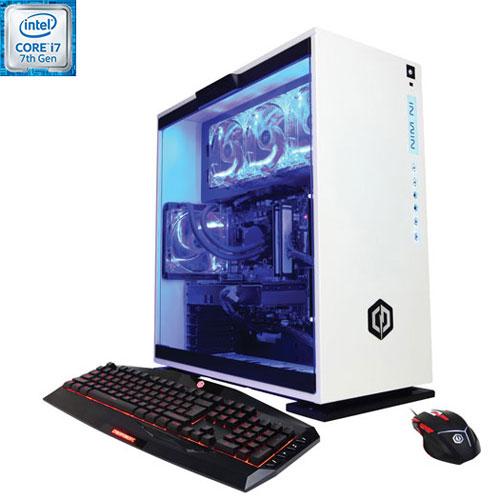 CyberPowerPC Gamer Supreme VR PC (Intel Core i7-7700K/3TB HDD/16GB SSD/NVIDIA GeForce GTX 1060) -Eng