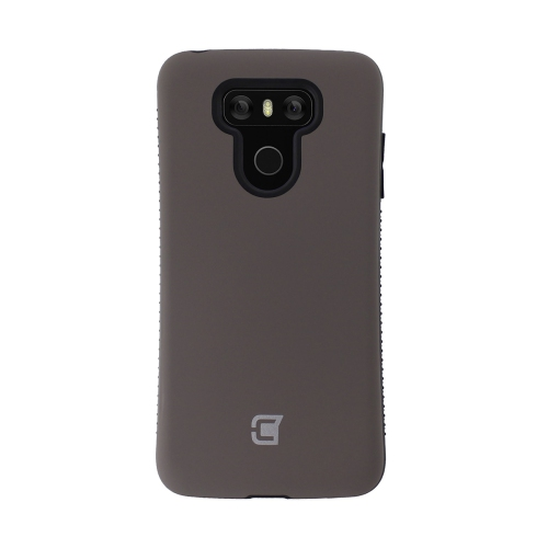 Caseco Fitted Hard Shell Case for LG G6 - Gun Metal