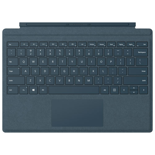 Microsoft Surface Pro Signature Keyboard Type Cover - Cobalt Blue - English