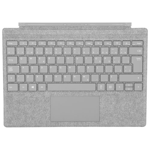 Microsoft Surface Pro Signature Keyboard Type Cover - Platinum - French
