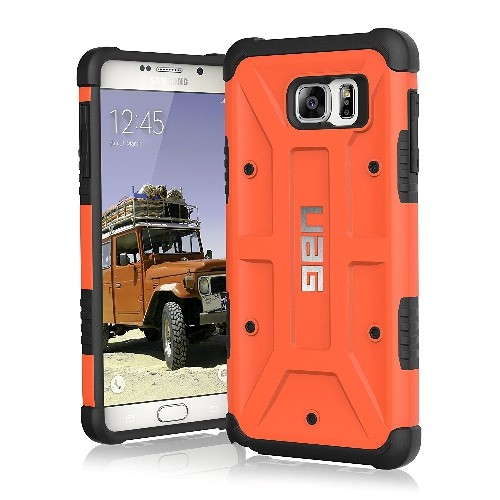 UAG Samsung Galaxy Note 5 Feather-Light Composite [RUST] Military Drop Tested Phone Case