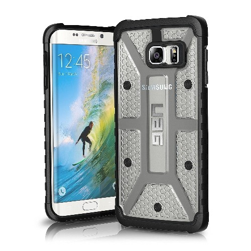 UAG Samsung Galaxy S6 Edge Plus Feather-Light Composite [ICE] Military Drop Tested Phone Case