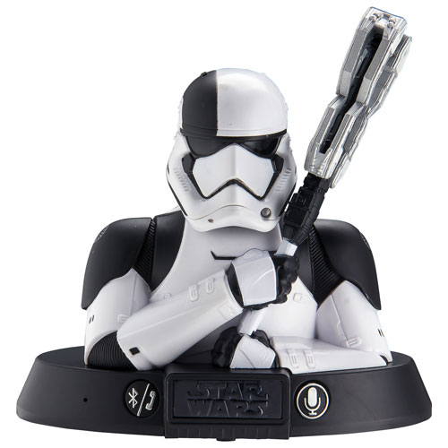 Enceinte Bluetooth Star Wars Stormtrooper de KIDdesigns - Noir - Blanc