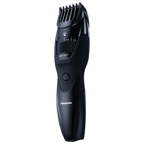 panasonic wet dry beard trimmer ergb42k black shavers groomers best buy canada. Black Bedroom Furniture Sets. Home Design Ideas