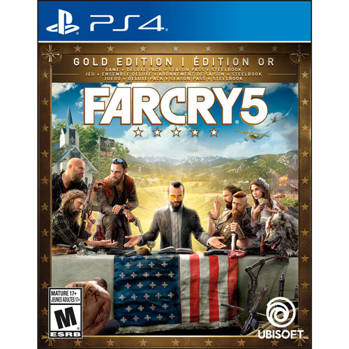 Far Cry 5 Gold Edition (PS4) : PlayStation 4 Games - Best ...