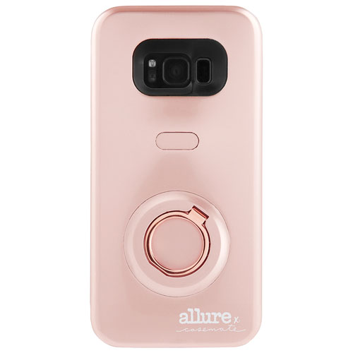 Case-Mate Allure Selfie Fitted Hard Shell Case for Galaxy S8 - Rose Gold